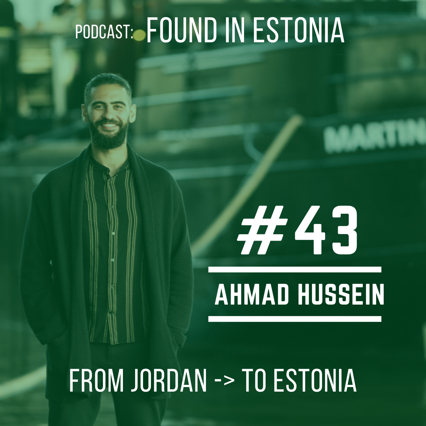 #43 Ahmad from Jordan